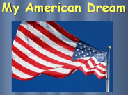 My American Dream logo